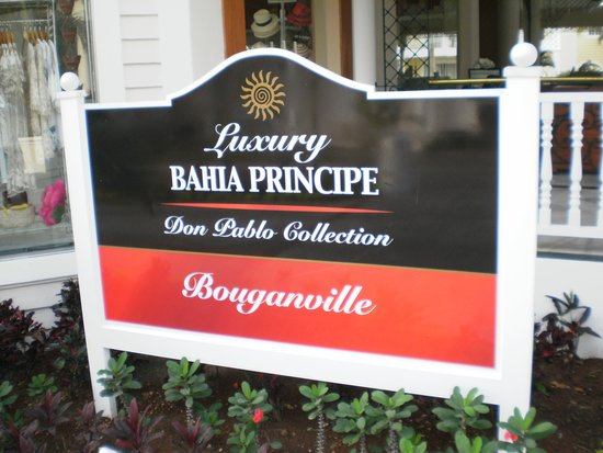 Luxury Bahia Principe Bouganville Don Pablo Collection : Gateway