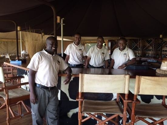 Serengeti Bushtops Camp: your wish is there comand!