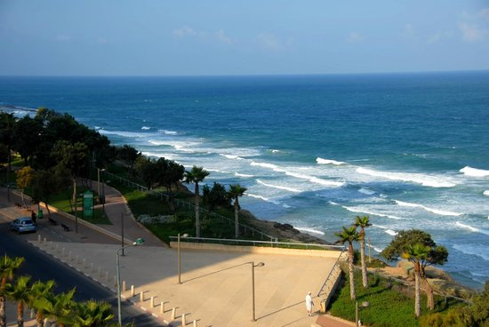 Galil Hotel : sea view