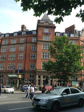 Hilton Nottingham : Front of the Hotel