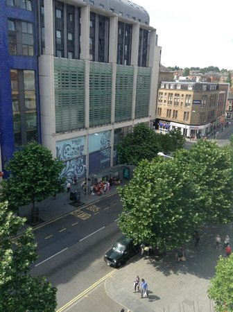 Hilton Nottingham : View from room 421