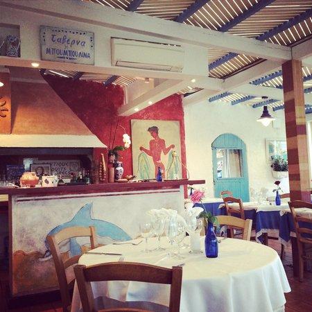 Restaurant grec Le Bouzouki : la terrasse/véranda