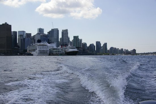 Granville Island Boat Rentals and Fishing Charters: Cruise ship terminal