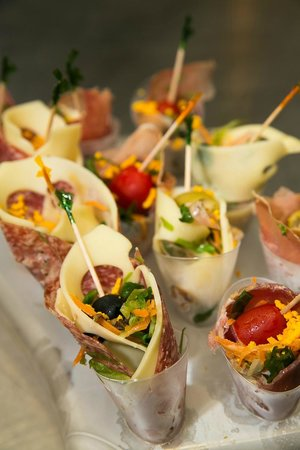 Hotel Cadiz: finger food al buffet
