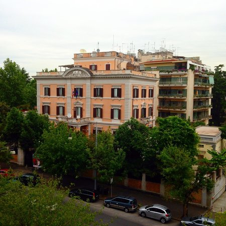 Hotel Santa Costanza: View from our room