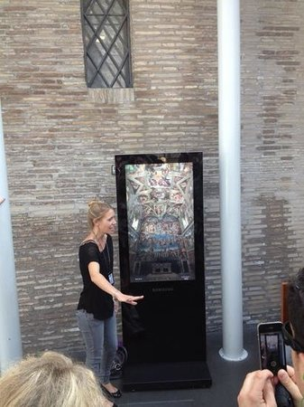 When In Rome Tours : vår flotte guide Cristina