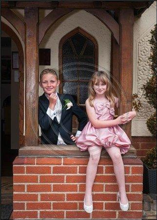 Great Hallingbury Manor: Posing for the camera
