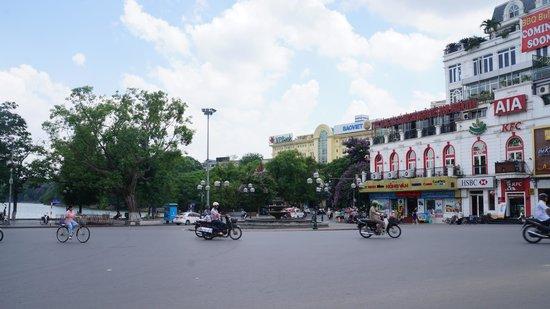 Hanoi Tirant Hotel: Taken on my way to Hoan Kiem Lake