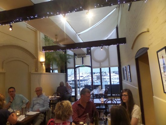 Bistro on the Quay: View out to the Quay