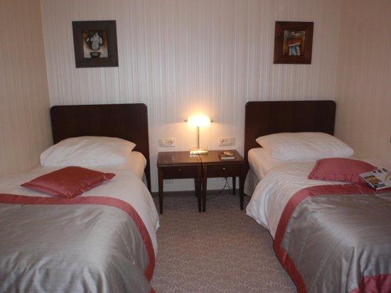 Hotel Devin: Habitación con 2 camas