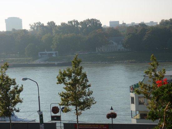 Hotel Devin: Río Danubio desde la habitación del hotel