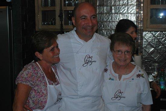 Casa Gregorio: Chef Marco and Epitourean Guests