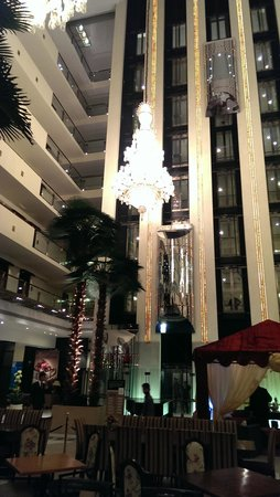 Pearl Continental Lahore : lobby