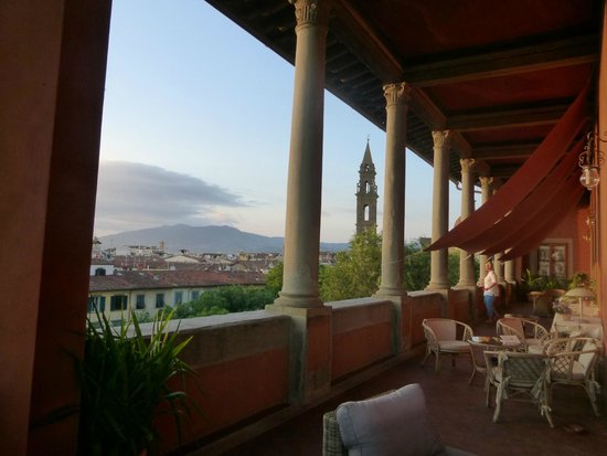 Hotel Palazzo Guadagni: Balcony View