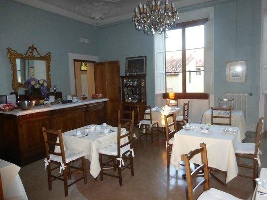 Hotel Palazzo Guadagni: Breakfast Dining Room