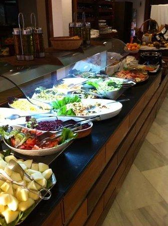 Lancelot Hotel: Healthy dinner options