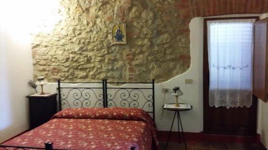 Tenuta Sant'Agnese : La camera dell'appartamento sangiovese