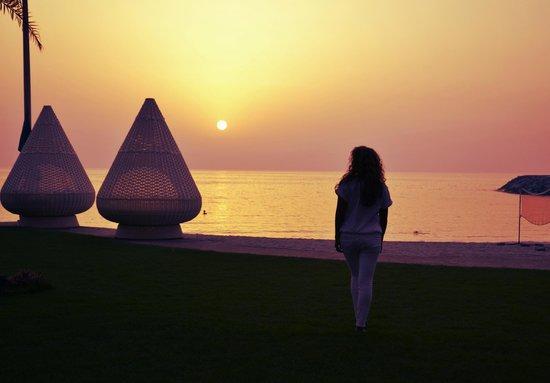 The Ajman Palace Hotel: on the beach