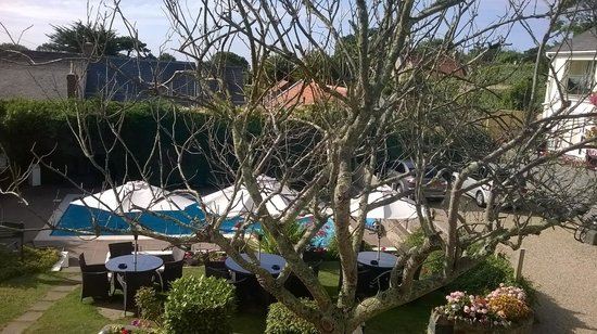 La Barbarie Hotel: View from window - room 7