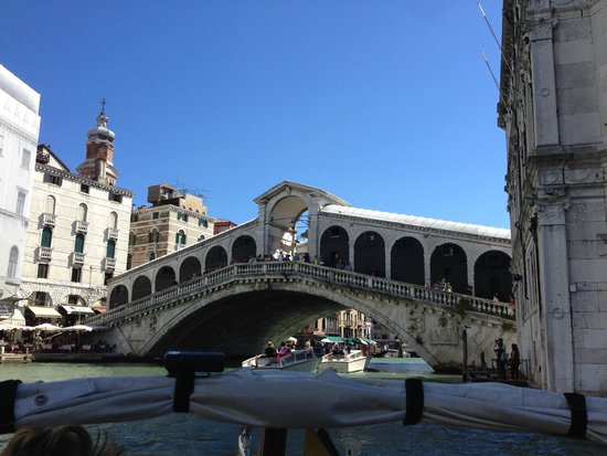 A Guide In Venice : Pics from the boat