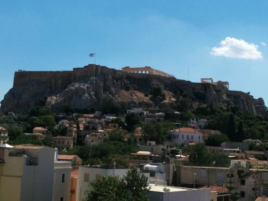 Central Athens Hotel: Acropolis View