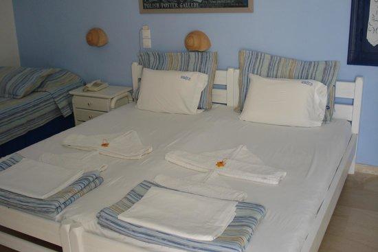 Hotel Onira : slaapkamer