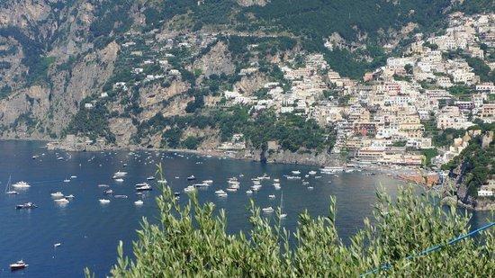 Positano Drivers: On way to Ravello