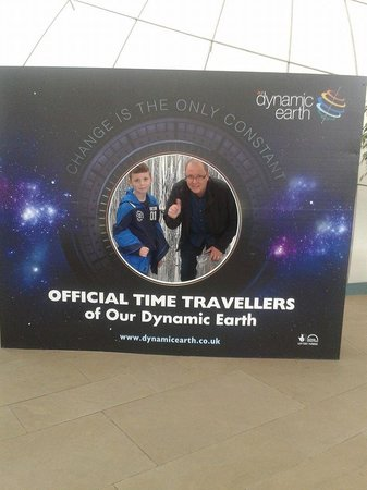 Dynamic Earth: Become a time traveller here....