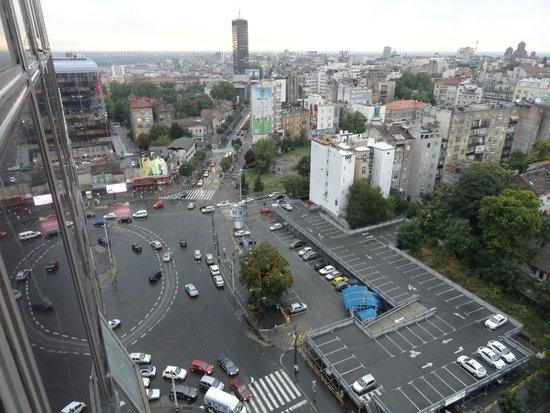 Slavija Hotel: Nice view from our window