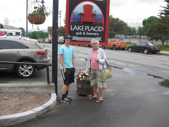 Hampton Inn & Suites Lake Placid: the streets of Lake Placid