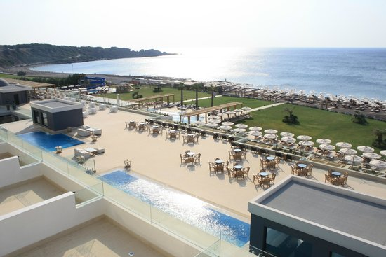 Mitsis Alila Resort & Spa : sea view from room 256