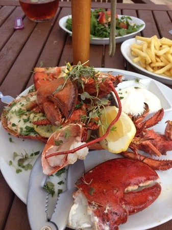 Amazing lobster @ The Manor House, Quorn