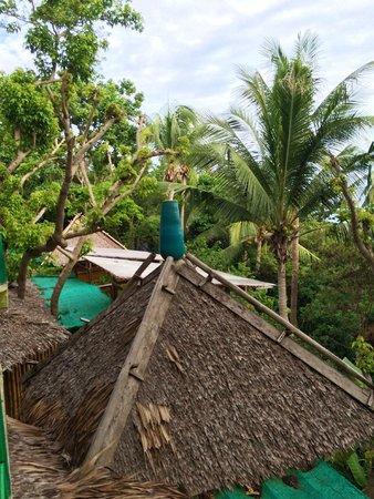 Charm Churee Villa: La vue de la chambre