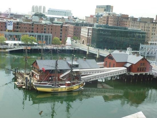 InterContinental Boston: vue de la chambre