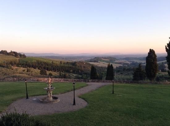 Villa San Filippo Resort: uitzicht vanuit onze kamer