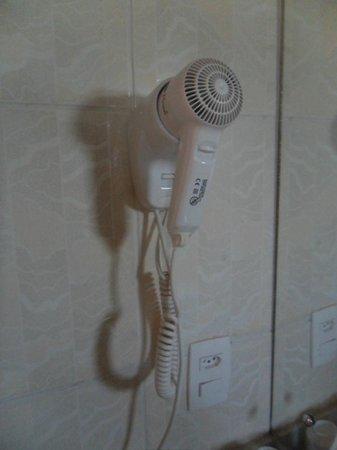 Hotel Rafain Centro: Banheiro