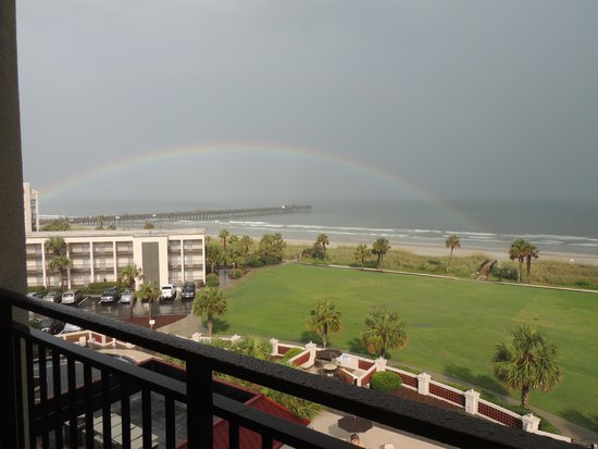 DoubleTree Resort by Hilton Myrtle Beach Oceanfront : View from our room!  Lovely!
