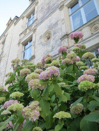 Domaine de Villeray : Фасад замка
