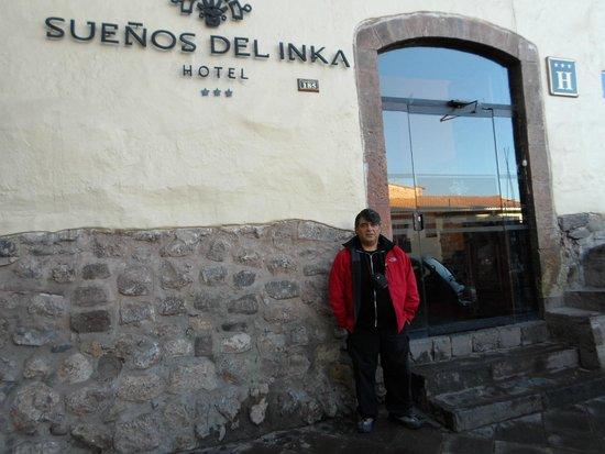Hotel Sueños del Inka: En el frente