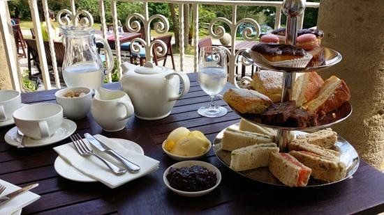 Fowey Hall: Wow what an afternoon tea!