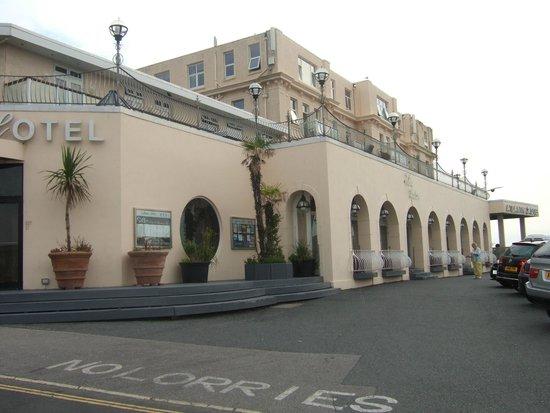 The Atlantic Hotel: Outside