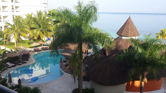 Secrets Wild Orchid Montego Bay : View from our balcony