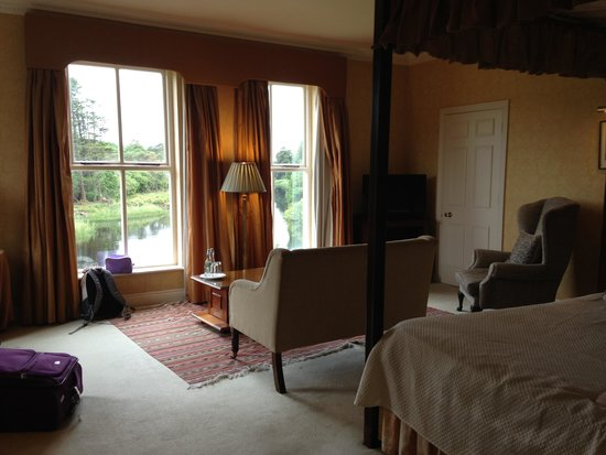 Ballynahinch Castle Hotel: Our room with a view