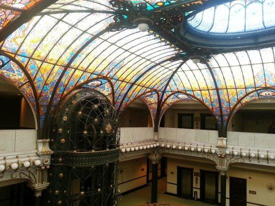 Gran Hotel Ciudad de Mexico: Teto de vitrais