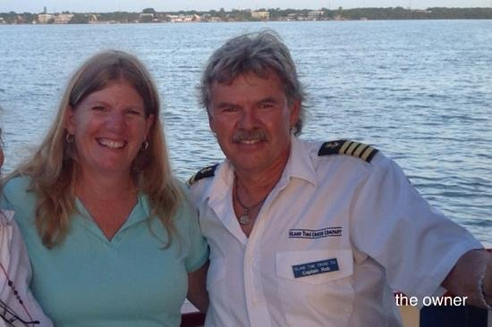 Island Time Cruises: Our captain and host