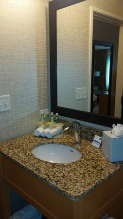 Holiday Inn Express Hotel & Suites Wheat Ridge-Denver West: Nice fixtures