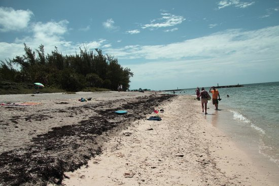 Fort Zachary Taylor Historic State Park: Looking Down the Beach