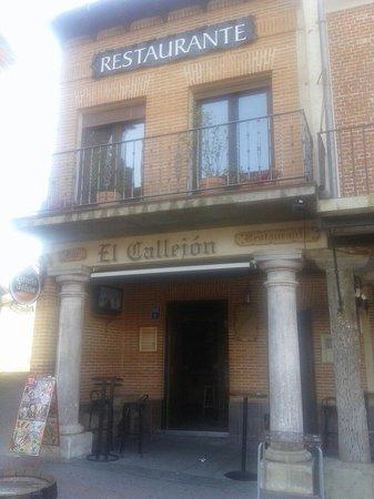 Alaejos, Hiszpania: El callejon
