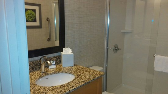 Holiday Inn Express Hotel & Suites Wheat Ridge-Denver West: Clean bathroom