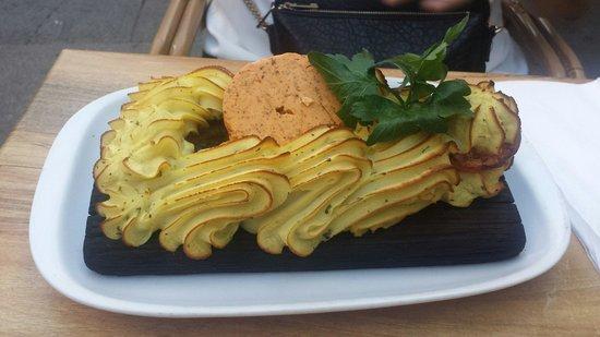 Restaurant Puk : Planksteak with herbal butter